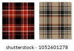 tartan seamless pattern . red ... | Shutterstock .eps vector #1052601278