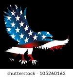 american eagle | Shutterstock .eps vector #105260162
