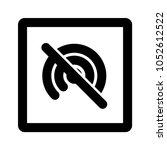 hotspot   wifi   tethering icon ... | Shutterstock .eps vector #1052612522