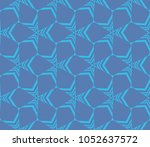 decorative seamless geometric... | Shutterstock .eps vector #1052637572