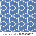 decorative seamless geometric... | Shutterstock .eps vector #1052638226