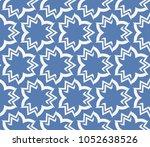 decorative seamless geometric... | Shutterstock .eps vector #1052638526