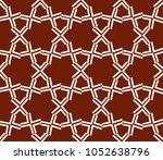 decorative seamless geometric... | Shutterstock .eps vector #1052638796