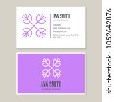 logo design with template... | Shutterstock .eps vector #1052642876