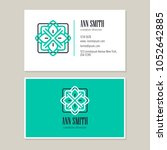 logo design with template... | Shutterstock .eps vector #1052642885