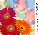 illustration of greeting or...   Shutterstock .eps vector #1052647835