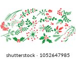 flat vector of natural... | Shutterstock .eps vector #1052647985