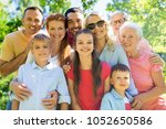 generation and people concept   ... | Shutterstock . vector #1052650586