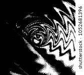 grunge halftone black and white ... | Shutterstock .eps vector #1052681396