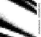 grunge halftone black and white ... | Shutterstock .eps vector #1052681492