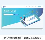 income investment profit banner ...