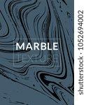 gradient vector marble texture. ... | Shutterstock .eps vector #1052694002