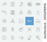 package icons set with seo ...