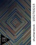 contrast line vector simple... | Shutterstock .eps vector #1052703215