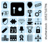 set of 22 business icons  hiset ...