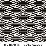 vector seamless pattern. modern ... | Shutterstock .eps vector #1052712098