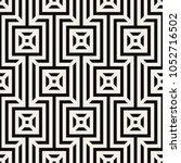 vector seamless pattern. modern ... | Shutterstock .eps vector #1052716502
