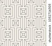vector seamless pattern. modern ... | Shutterstock .eps vector #1052716505