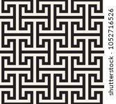 vector seamless pattern. modern ... | Shutterstock .eps vector #1052716526