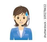 operator | Shutterstock .eps vector #105278612