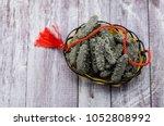 sea cucumber dry ingredients   Shutterstock . vector #1052808992