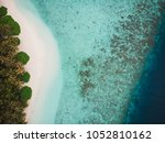 beautiful aerial view of... | Shutterstock . vector #1052810162