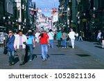 torun  poland   september 5 ... | Shutterstock . vector #1052821136