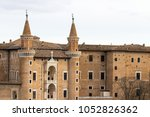 Urbino (one of the most important centers of the Italian Renaissance) Italy - detail of the old city