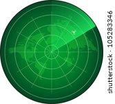 radar screen. eps10   Shutterstock .eps vector #105283346