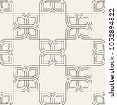 vector seamless pattern. modern ...   Shutterstock .eps vector #1052894822