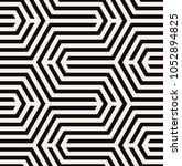 vector seamless pattern. modern ... | Shutterstock .eps vector #1052894825