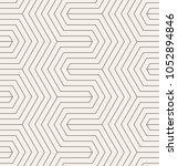 vector seamless pattern. modern ... | Shutterstock .eps vector #1052894846