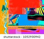 original digital abstract...