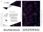 dark purple vector  template...