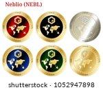 6 in 1 set of neblio  nebl  ...