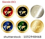6 in 1 set of siacoin  sc  ...