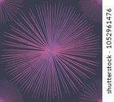 abstract linear pattern on dark ... | Shutterstock .eps vector #1052961476