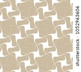 vector seamless pattern with... | Shutterstock .eps vector #1052963606