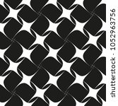 vector seamless pattern with... | Shutterstock .eps vector #1052963756
