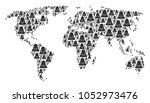 geographic atlas concept... | Shutterstock . vector #1052973476