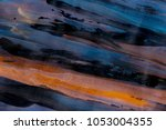 abstract acrylic creative... | Shutterstock . vector #1053004355