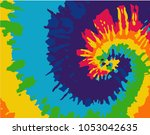 tie dye background | Shutterstock .eps vector #1053042635
