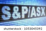 the market capitalization... | Shutterstock . vector #1053045392