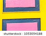 yellow and pink part of front... | Shutterstock . vector #1053054188