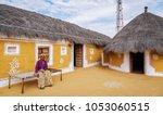 jaisalmer  rajasthan  december... | Shutterstock . vector #1053060515