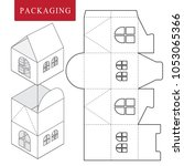 package for object.vector... | Shutterstock .eps vector #1053065366