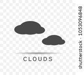 clouds icon illustration...