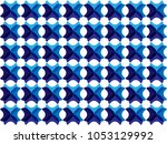 blue abstract background design | Shutterstock .eps vector #1053129992