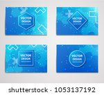 medical research banner with... | Shutterstock .eps vector #1053137192