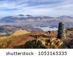 catbells mountain summit  lake...